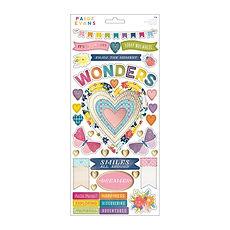 """Paige Evans-Plancia di stickers collezione """" Wonders """""""