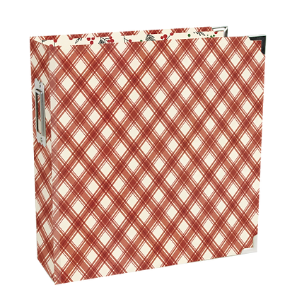 SIMPLE STORIES- JINGLE ALL THE WAY-6X8 SN@P! HOLIDAY BINDER