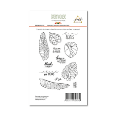 "PaperNova  Design timbri clear collezione "" Greenhouse"""