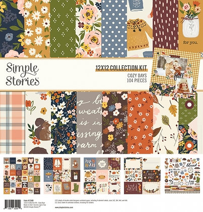 SIMPLE STORIES- COZY DAYS - COLLECTION KIT