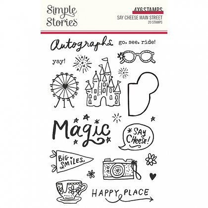 SIMPLE STORIES- SAY CHEESE Main Street  -STAMPS