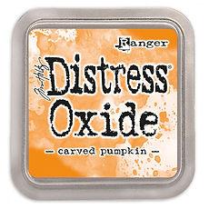 Ranger Ink  - Tim Holtz distress oxide Carved pumpkin