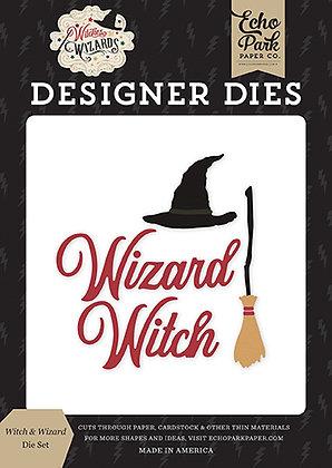 Die set Echo Park  collezione Witches &  Wizards