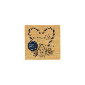 "Florileges Design Timbro in legno""Precieux moments """