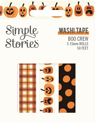 SIMPLE STORIES- BOO CREW -WASHI TAPE