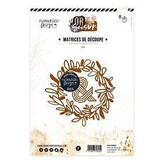 "-PRODOTTO IN PREORDINE -Florileges Design fustella "" Couronne des 4 saisons """