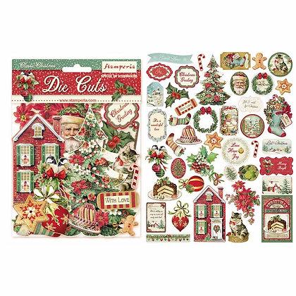 Die cuts Collezione Classic Christmas  di Stamperia