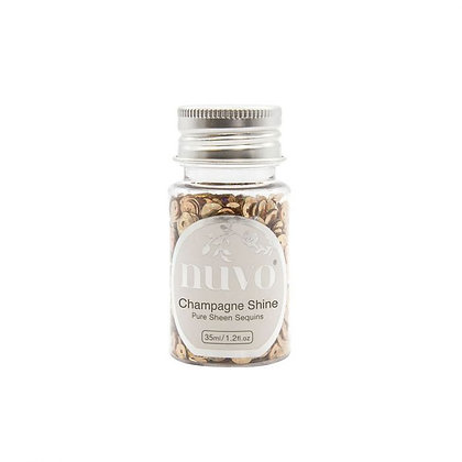 NUVO PURE SHEEN SEQUINS  35 ml Champagne Shine