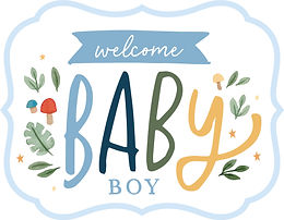 ECHO PARK WELCOME BABY BOY
