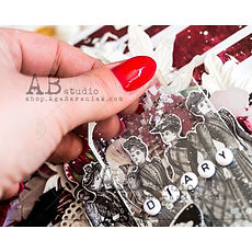 AB STUDIO 8 elementi trasparenti 8,9 cm x 6,4 cm