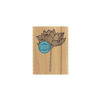 Florileges Design Timbro in legno Lotus Solitaire