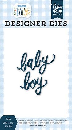 "Echo Park fustella "" Baby boy "" collezione  "" Welcome baby boy"