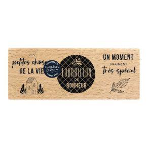 Florileges Design Timbro in legno Tourbillon de bonheur