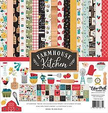 Farmhouse Kitchen Echo Park Collection kit 12 x 12 inch