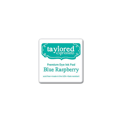 TAYLORED EXPRESSION MINI INK PAD BLUE RASPBERRY