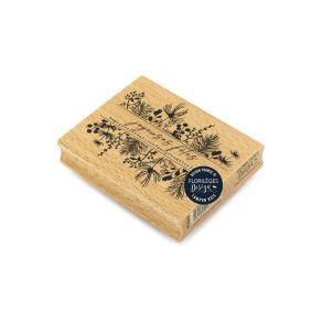 "Florileges Design Timbro in legno"" Fetes magiques """