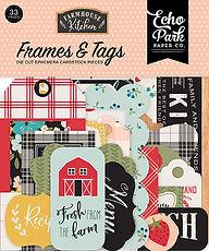 Frames and Tag Echo Park collezione Farmhouse Kitchen