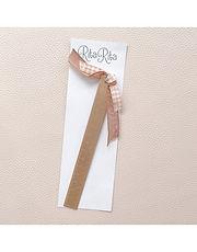 Rita Rita - Righello in metallo rosa