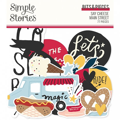 SIMPLE STORIES- SAY CHEESE Main Street -BITS E PIECES