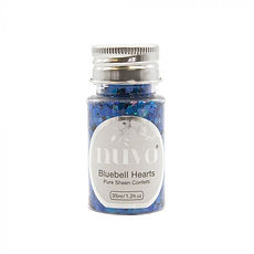 NUVO CONFETTI 35 ml Bluebell Hearts