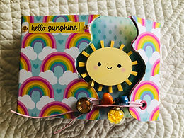 """SHOPPING BAG Mini Album """" Hello sunshine """""""