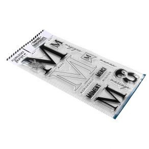 Florileges Design Timbri trasparenti Lettera M