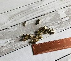 Veroscrap-Set 50 Brads  colore Oro