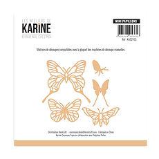 """Les Ateliers de Karine -FustellE """"Mini papillons"""""""
