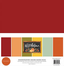 Carta Bella  12 x 12  HELLO AUTUMN BASIC PAD