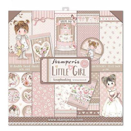 Pad scrapbooking collezione Little girl  di Stamperia