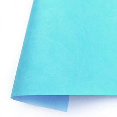 KORA Projects - Eco pelle  mate Azul Caribe  35 cm x 50 cm