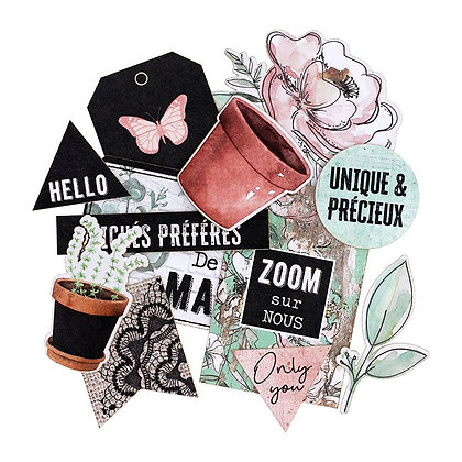 Florileges Design die cuts La maison de Jeanne