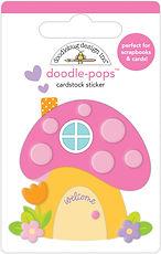 """Doodlebug Design """"Fairy house doodle-pops """""""