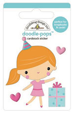 Doodlebug Design Hey Cupcake Doodle pops Party girl
