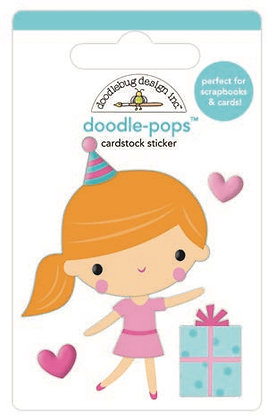 Doodlebug Design Hey Cupcake Doodle pops Party girl