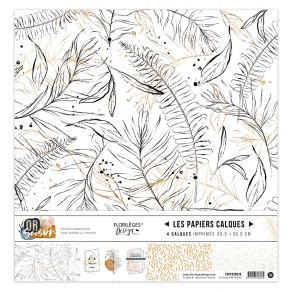 Florileges Design kit vellum collezione Or Saison