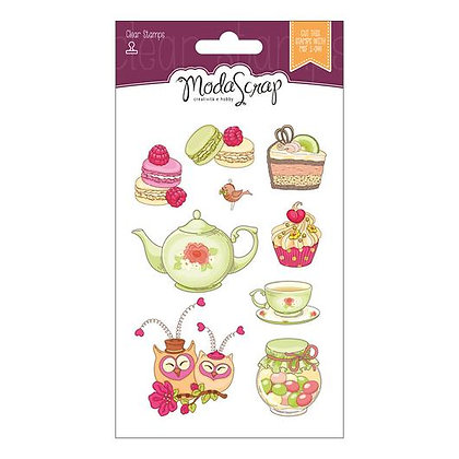 MODASCRAP CLEAR STAMPS CUCINA WITH LOVE