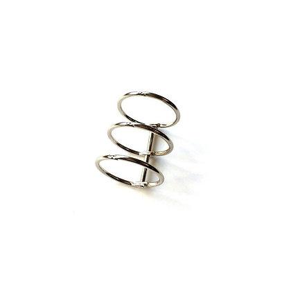 Album binder rings  silver