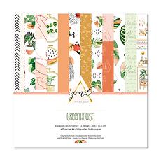 "PaperNova Design - Paper pad "" Greenhouse """