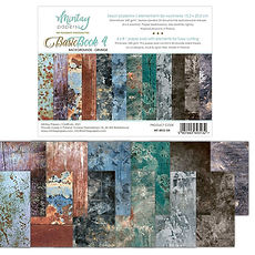 Mintay Papers - Basic book 4 -Background Grunge 15x20 cm