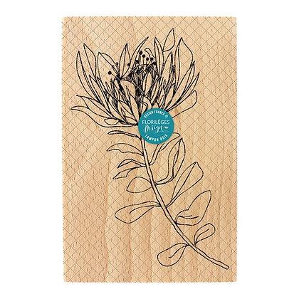 Florileges Design Timbro in legno Fleur unique