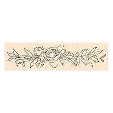 """Les Ateliers de Karine - Timbro in legno """"Delicate """""""