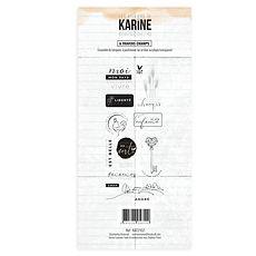 """Les Ateliers de Karine - Timbri clear """" A travers champ"""""""