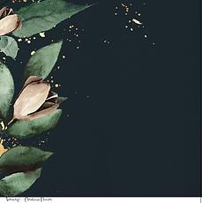 La box di Ve - Novembre - Foglio singolo-Christmas flowers