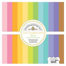 """Doodlebug Design """" Spring textured cardstock assortment pack  """""""