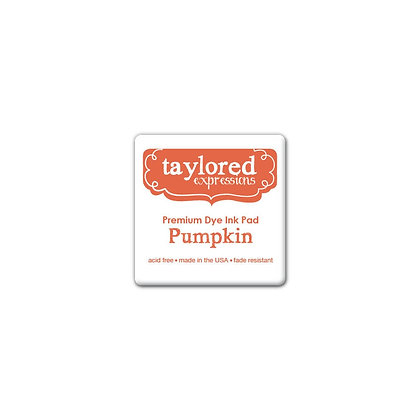 TAYLORED EXPRESSION MINI INK PAD PUMPKIN