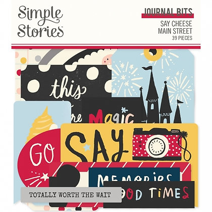 SIMPLE STORIES- SAY CHEESE MAIN STREET -JOURNAL BITS