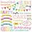 Thumbnail: Doodlebug Design Hey Cupcake Chit Chat diecuts