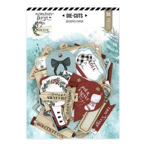 Florileges Design 55 die cuts collezione Oh Winter