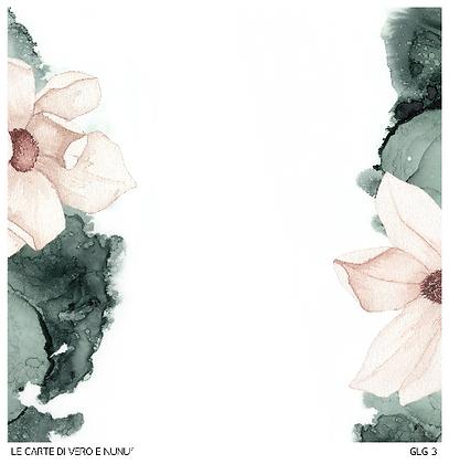 """Veroscrap - Foglio singolo collezione """" Magnolia"""""""